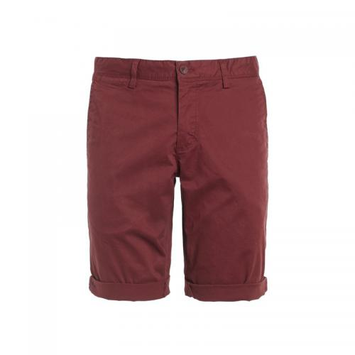 Teddy Smith - Bermuda chino homme Teddy Smith - Bordeaux - Promos Homme