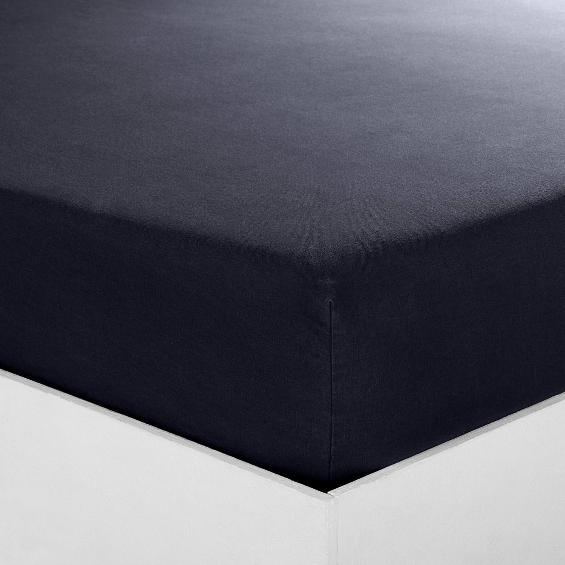 Drap Housse Sommier Articule Coton Tertio Noir 3 Suisses