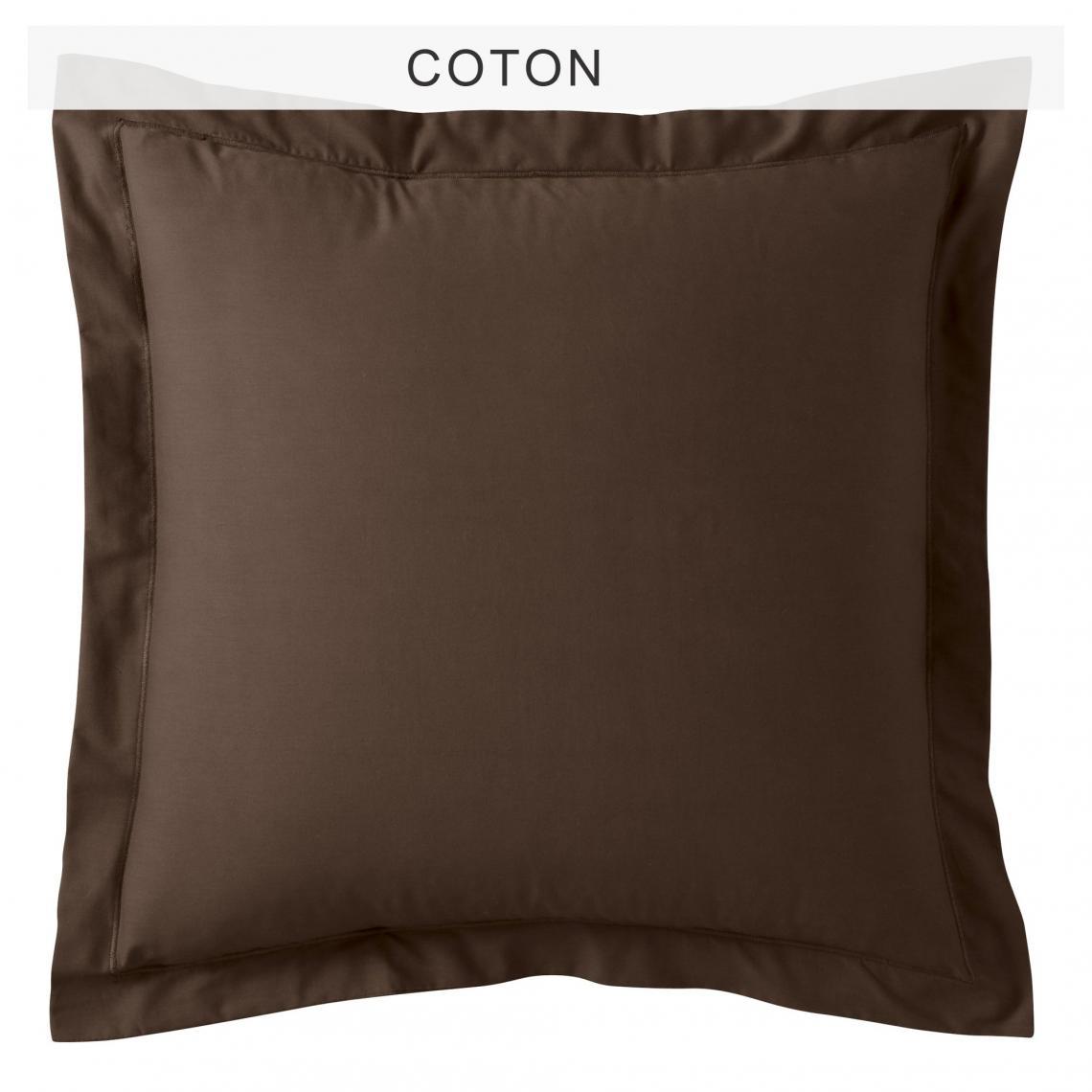 Chambre Chocolat Et Vert Anis taie d'oreiller polycoton tertio® - chocolat/vert anis 1 avis plus de  détails