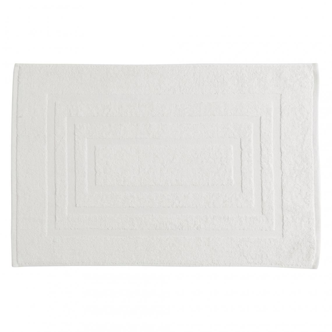 Tapis de bain en éponge 750 gm² TERTIO® - blanc cnBpt