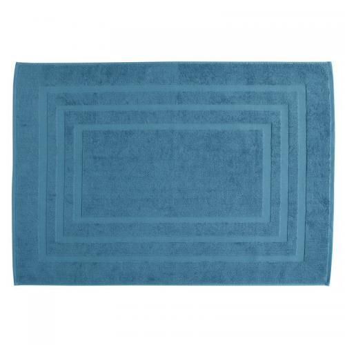 Tapis de bain en éponge bouclette coton 750 gm² Tertio® - Bleu - 3S. x  Tertio