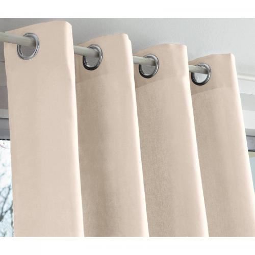 Rideaux, Cantonnières Embrase Coton Satin Originale Anis Long 75 Cm Rideaux Rideaux, Stores
