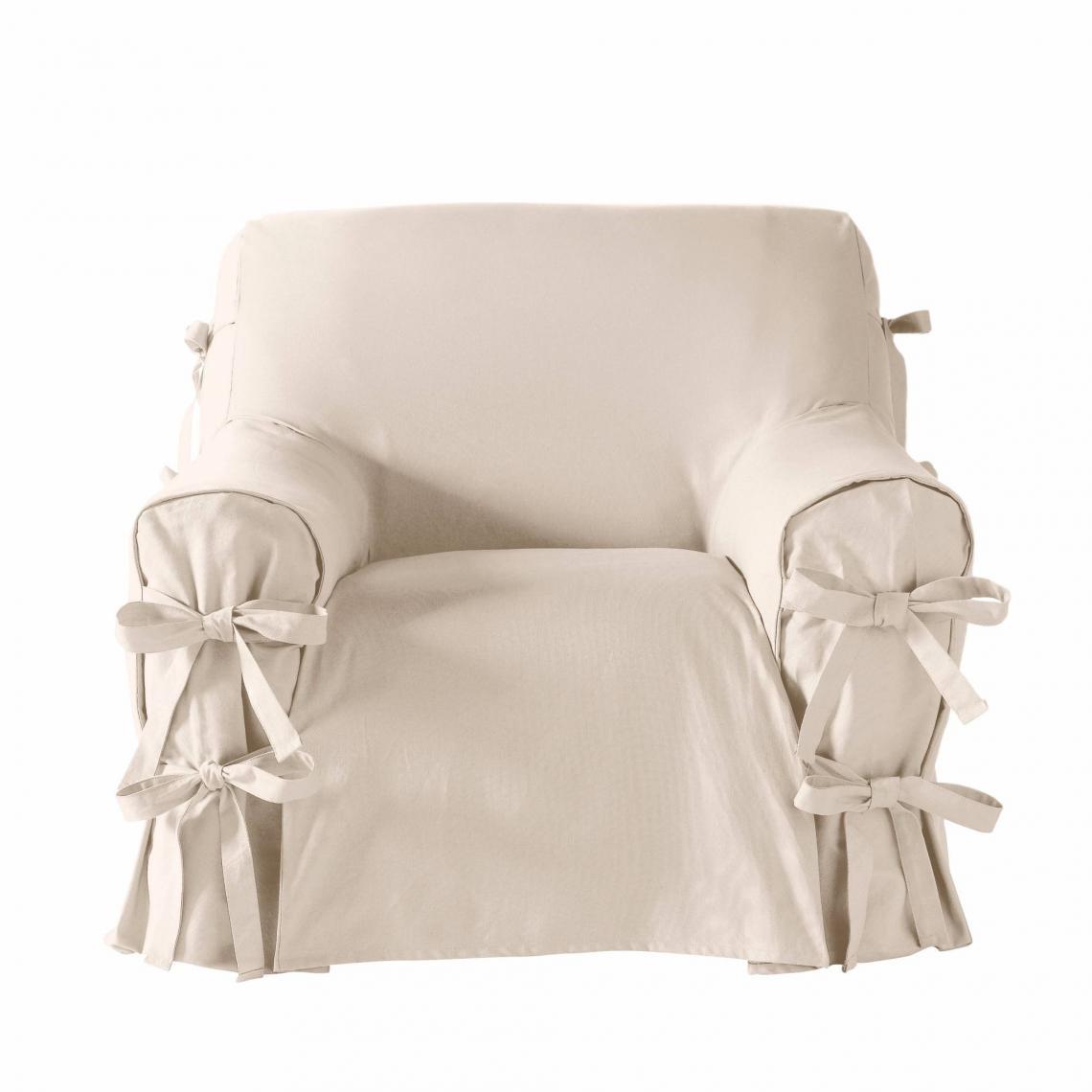 housse antitache tertio nouettes pour fauteuil et. Black Bedroom Furniture Sets. Home Design Ideas
