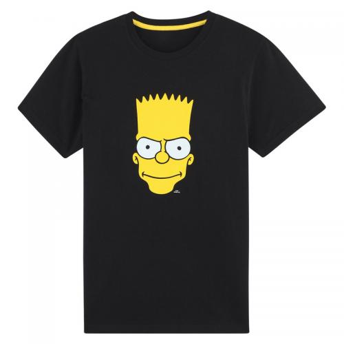 The Simpsons - T-shirt manches courtes garçon Simpson - Noir - T-shirt / Polo