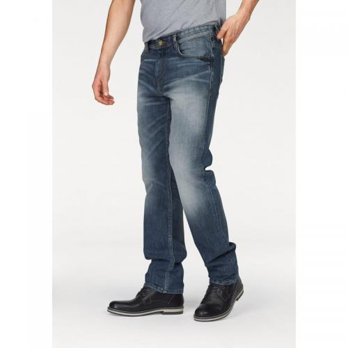 Tom tailor - Jean Marvin slim used 5 poches L34 homme Tom Tailor - Multicolore - Promo LES ESSENTIELS HOMME