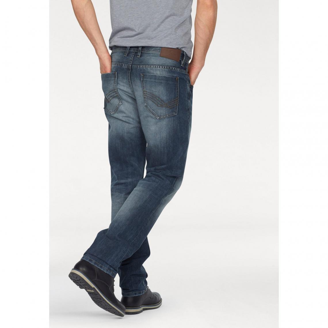 e68ccd27ee4 Jeans slim homme Tom tailor Cliquez l image pour l agrandir. Jean Marvin  slim used 5 poches L34 ...