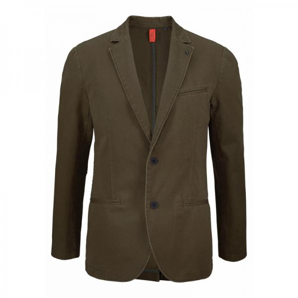 Veste de costume en toile homme Tom Tailor - Kaki Tom tailor