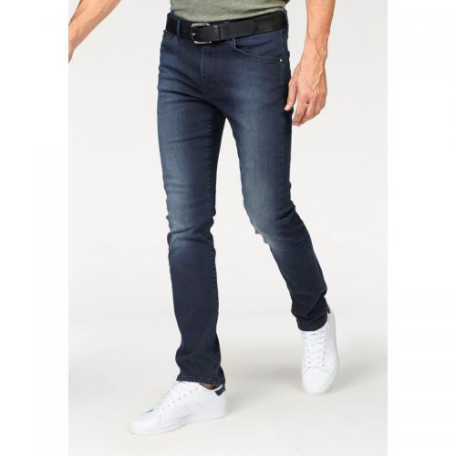 Tom tailor - Jean 5 poches stretch L34 homme Tom Tailor Polo Team - Bleu Foncé Used - Vêtements homme