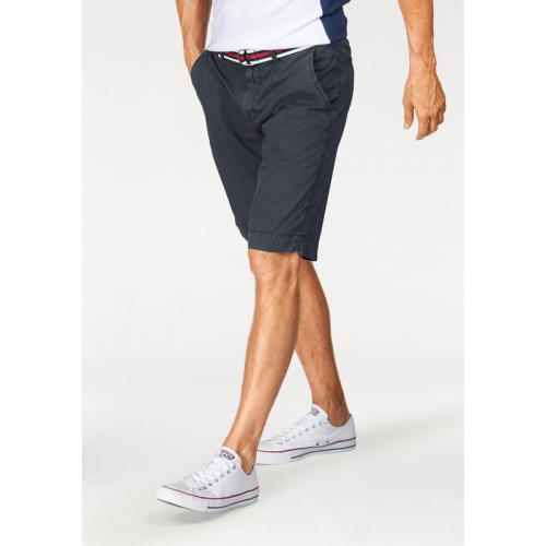 Tom tailor - Bermuda chino homme Tom Tailor Polo Team - Gris Bleu - Promos vêtements homme