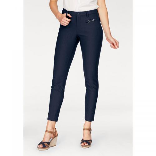 Tom tailor - Pantalon coupe droite femme Tom Tailor Polo Team - Marine - Tom tailor