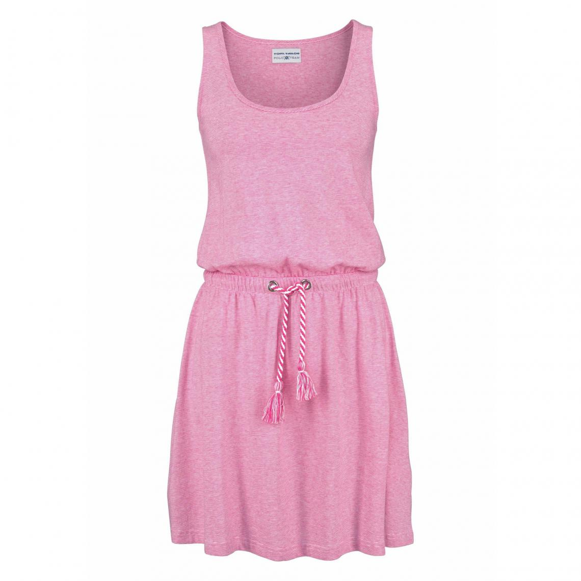 Tailor Longue Manches Rose Robe Sans Col Femme Tom Polo Rond Team UMVpSqzjLG