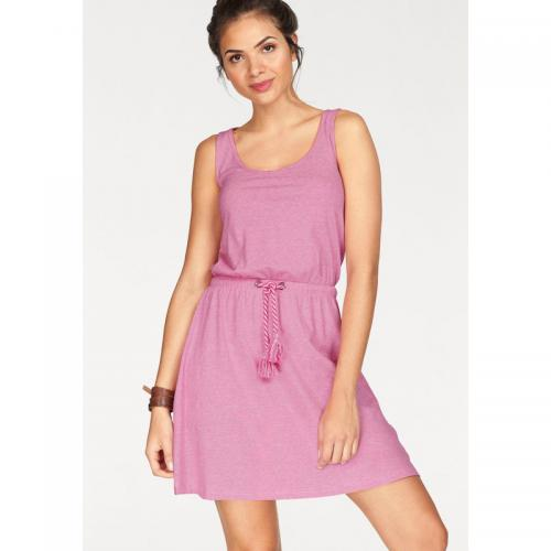 Tom tailor - Robe longue col rond sans manches femme Tom Tailor Polo Team - Rose Vif - La mode Rose