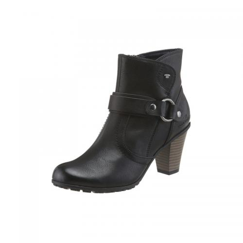 fb22ffdb4fb11a Tom tailor - Boots femme Tom Tailor - Noir - Bottes / Bottines