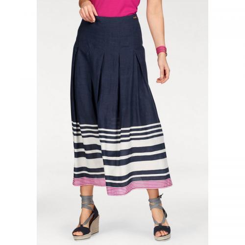 71b2ce7f566a62 Jupe longue plissée femme Tom Tailor Polo Team Maxirock - Bleu