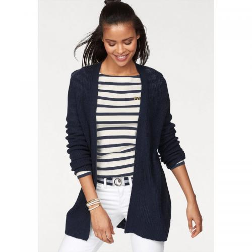 Tom tailor - Gilet long femme Tom Tailor Polo Team - Bleu Marine - Vêtements femme