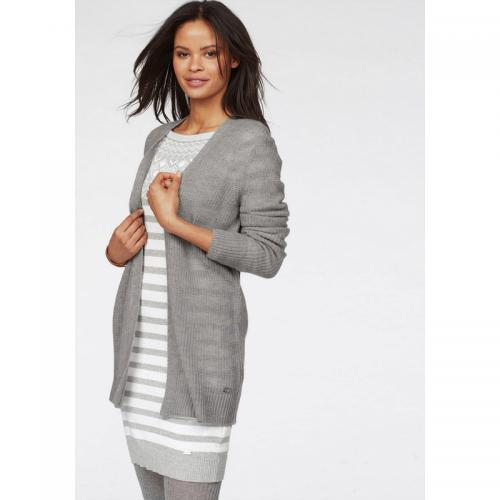 Tom tailor - Gilet long femme Tom Tailor Polo Team - Gris - Vêtements femme