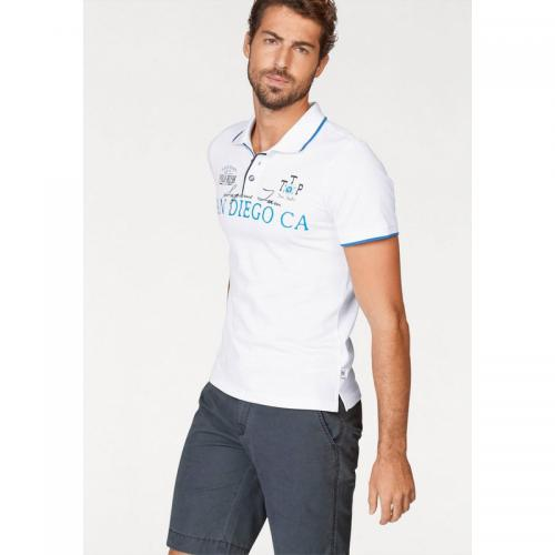Tom tailor - Polo homme Tom Tailor Polo Team - Blanc - Vêtements homme