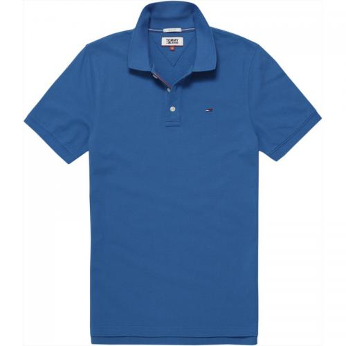 Polo manches courtes homme Tommy Jeans - Bleu Ciel Tommy Jeans Homme