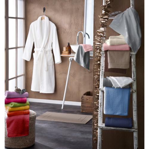 Drap de douche Douceur Tradilinge - Orange