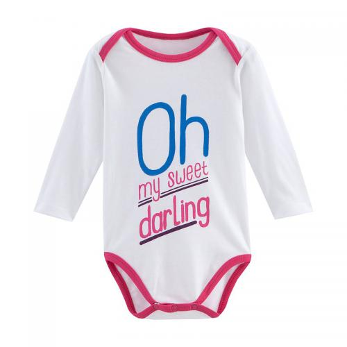 Universal Music - Body Darling manches longues bébé fille Universal - Blanc - Universal Music