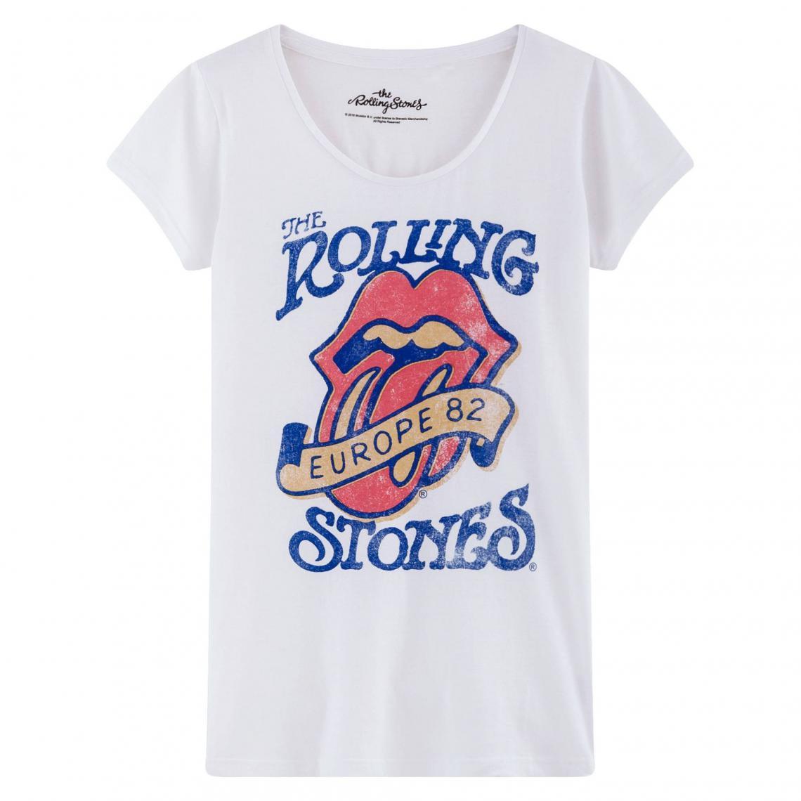 t shirt rolling stones femme strass
