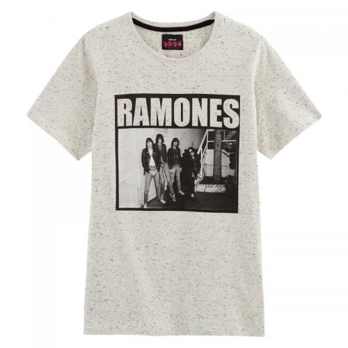 Universal Music - T-shirt manches courtes Ramones homme Universal - Beige - T-shirt / Polo