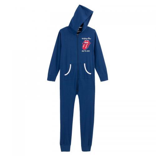 40b607ee3d0bd Universal Music - Pyjama combinaison de nuit coton garçon The Rolling  Stones - Bleu - Enfant