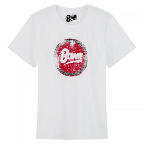 Universal Music - Tee-shirt manches courtes homme David Bowie - Blanc - T-shirt / Polo