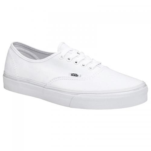Vans - Vans Authentic chaussures de ville en toile homme - Blanc - Baskets