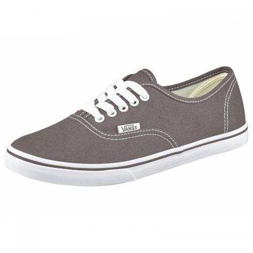 Vans - Vans Authentic Lo Pro tennis en toile homme - Gris - Baskets