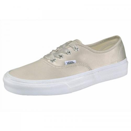 Chaussure en toile Vans Authentic Satin homme - Naturel
