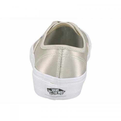 Chaussure en toile Vans Authentic Satin homme - Naturel Vans