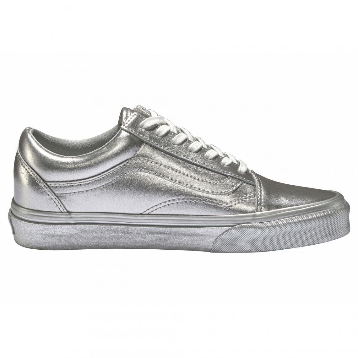 basket vans femme grise
