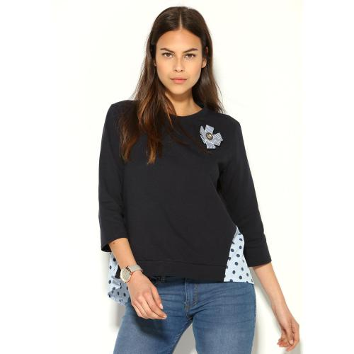Venca - SWEAT EFFET 2 EN 1 - Sweat femme
