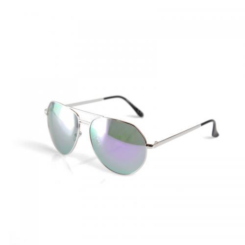 263d9d91a56 Venca - Lunettes de soleil monture métallique argentée style aviateur femme  - argenté - Lunettes de