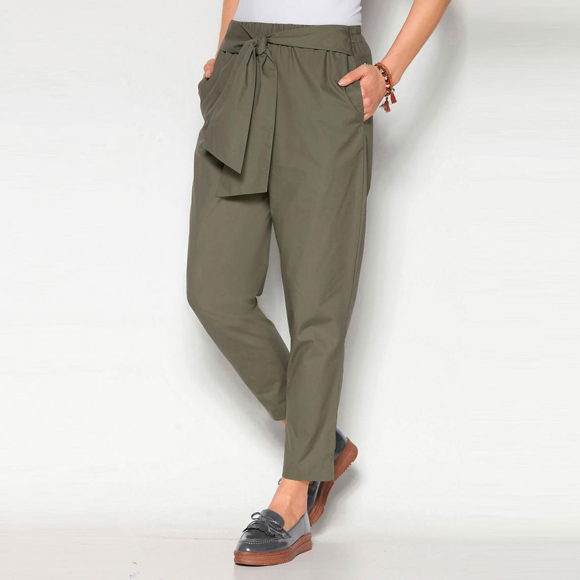 pantalon femme elastique