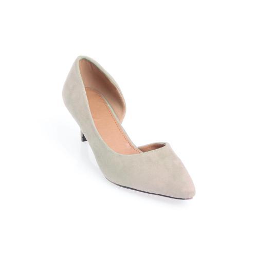8c57eebfc78997 Venca - Escarpins à talons recouverts femme et bouts pointus Venca - Beige  - Chaussures femme