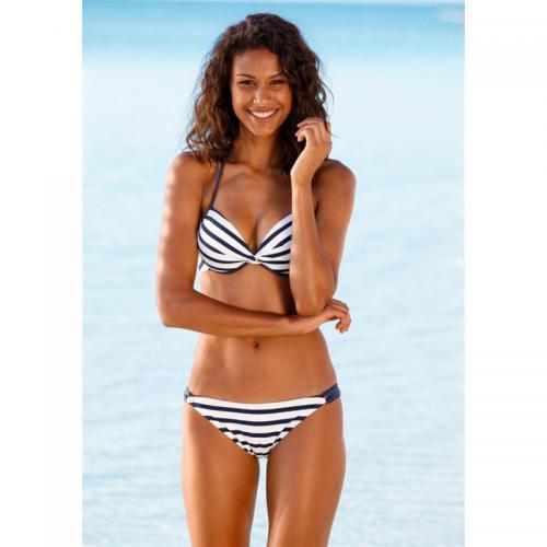 9e1d32678d Venice Beach - Maillot de bain push-up rayé 2 pièces femme Venice Beach -