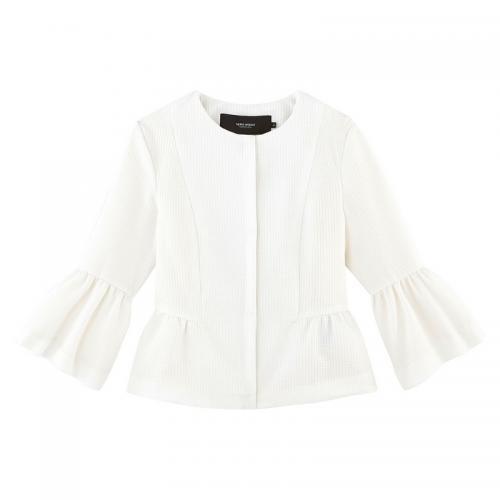online store 08ce7 86c15 Vero Moda - Veste courte femme Vero Moda - Blanc - Veste