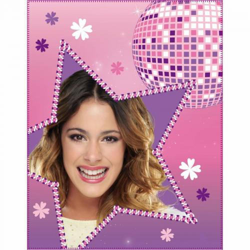 Violetta - Plaid polaire ta Concert - Violet - Plaid