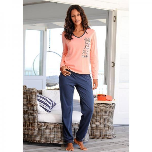nouveau produit 09fbe 05ac8 Lot de 2 pyjamas manches longues en coton femme Vivance - Gris 16 Avis