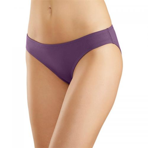 Vivance - Lot de 6 slips microfibre Vivance Active - Violet - Promotions Sous-vêtements femme