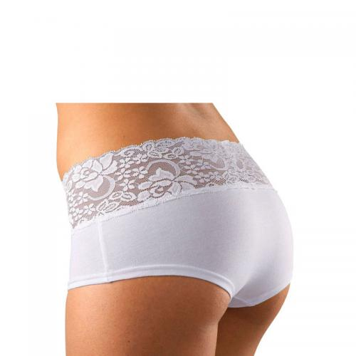 Vivance - Lot de 3 shorties dentelle femme Vivance Active - 3 Blanc - Toute la lingerie femme