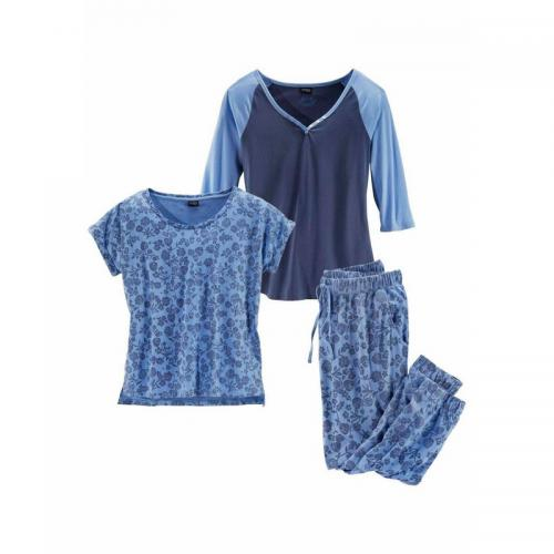 Vivance - Ensemble pyjama 3 pièces Vivance dream - Bleu - Ensembles et pyjamas