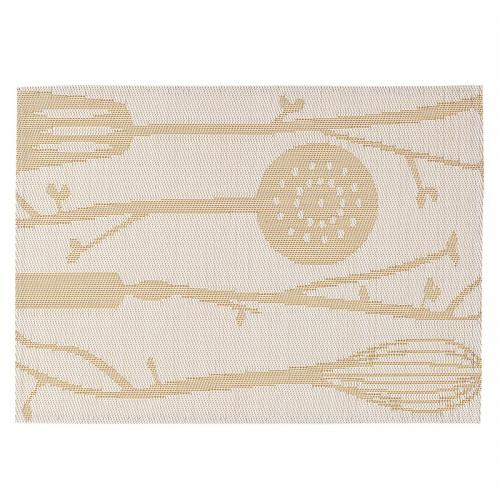 Winkler - Lot de 2 sets de table LEAF WINKLER - Blanc - Linge de maison