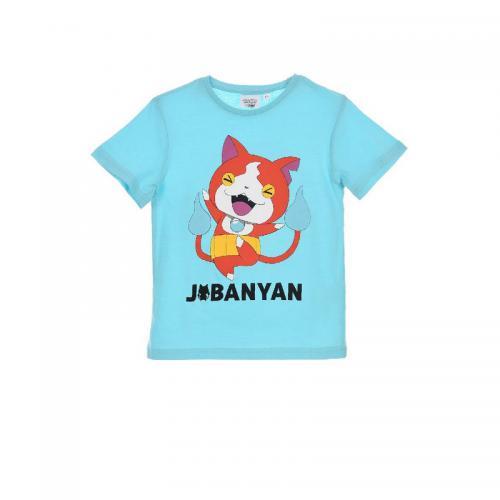 b9842b566983f Yokai - T-shirt manches courtes garçon Yo-kai Watch - Bleu - Enfant
