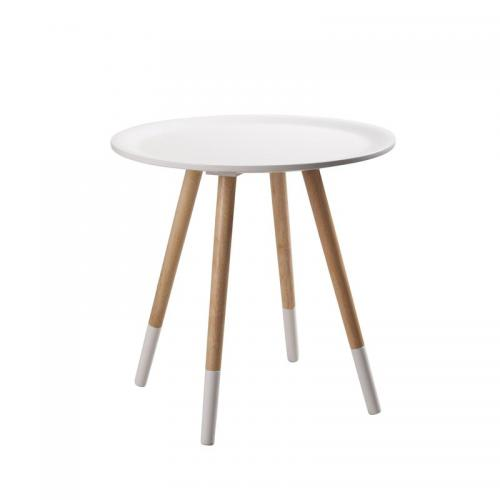 Zuiver - Table basse pieds peints TWO TONE ZUIVER - Blanc - Tables basses