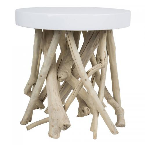 Zuiver - Table basse CUMI ZUIVER - Blanc - Tables basses