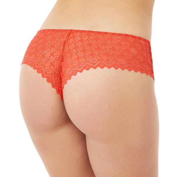Shorty tanga orange Culottée CAMILLE CERF & POMM'POIRE - orange Pomm Poire