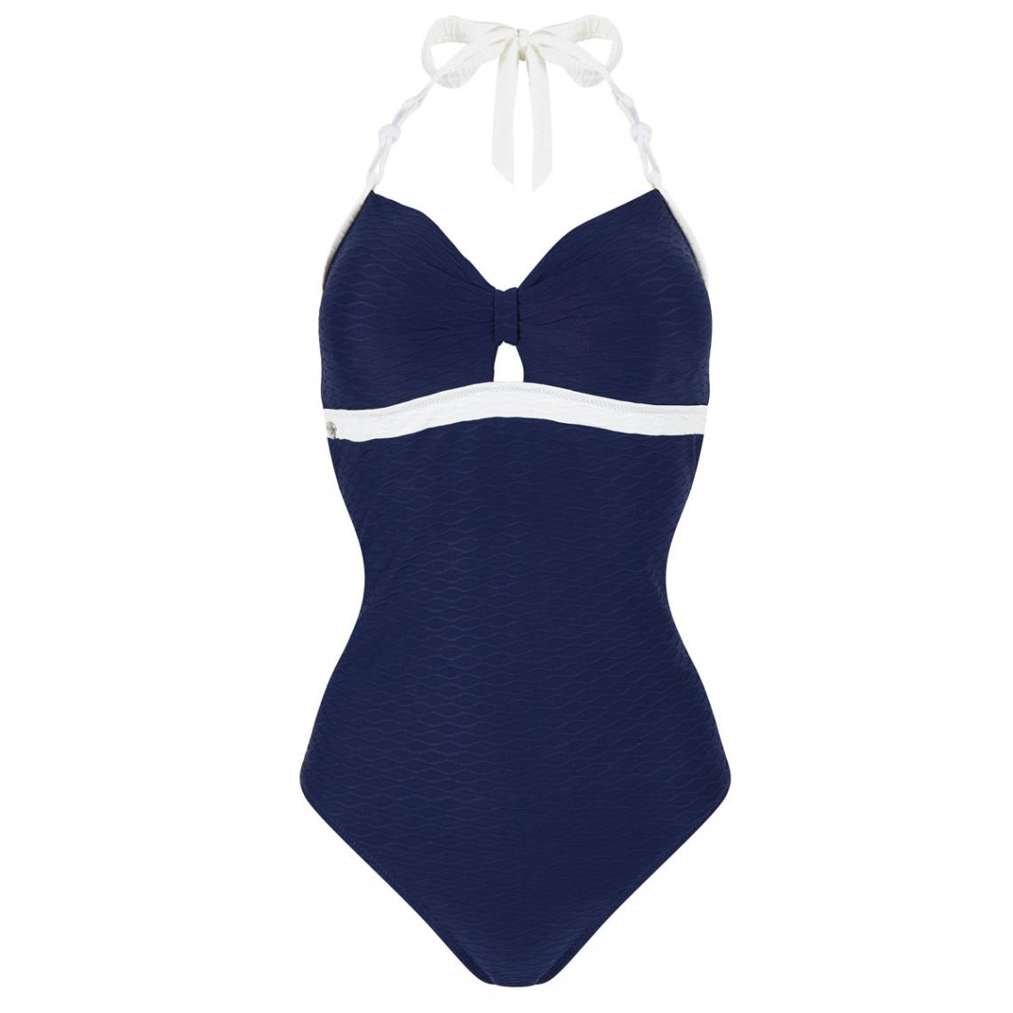 maillot de bain une pi ce idole brigitte bardot bleu 3 suisses